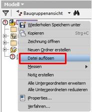 Datei auflösen 1